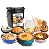 Ready Hour Gluten Free Food Kit (120 servings, 1 tote)-camping survival