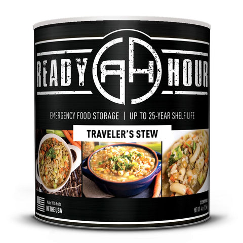 Ready Hour Traveler's Stew (22 servings)-camping survival