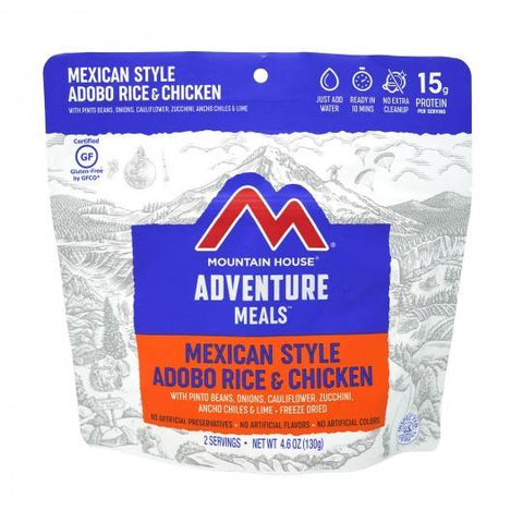 Mountain House Mexican Style Rice & Chicken Pouch - Camping Survival