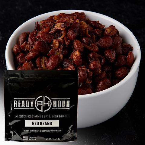 Red Beans Single Pouch (4 Servings) - Camping Survival
