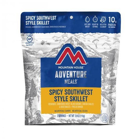Mountain House Spicy Southwest Breakfast Hash Pouch - Camping Survival