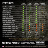 TITAN SurvivorCord Dragonscale