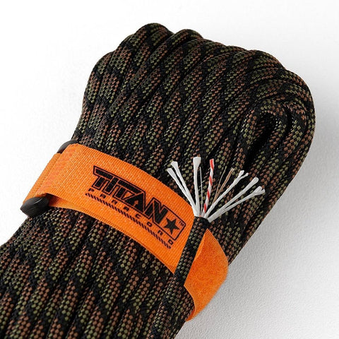 TITAN SurvivorCord Dragonscale  camping survival
