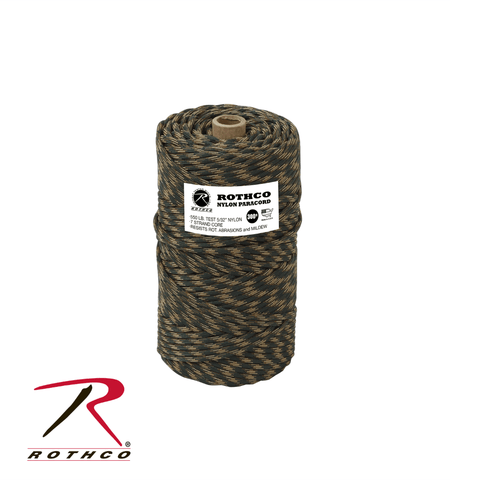 Rothco Nylon Paracord 550lb 300 Ft Tube Camping Survival