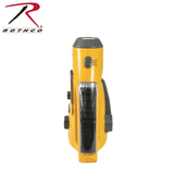 Rothco Solar/Wind Up Flashlight with Radio