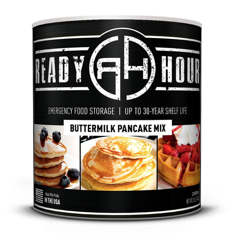 Ready Hour Buttermilk Pancake Mix (32 servings) camping survival
