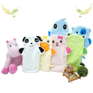 High Quality Baby's Bath Gloves 0-24M