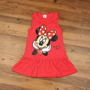 Toddlers Girl Mickey Mouse Dress