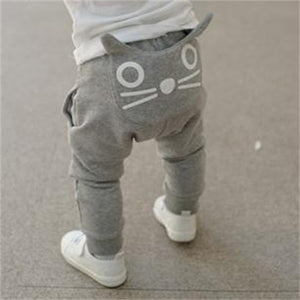 spring and autumn kids trousers baby pants