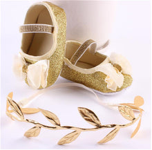Baby Girl Gold & Silver Series Shoes