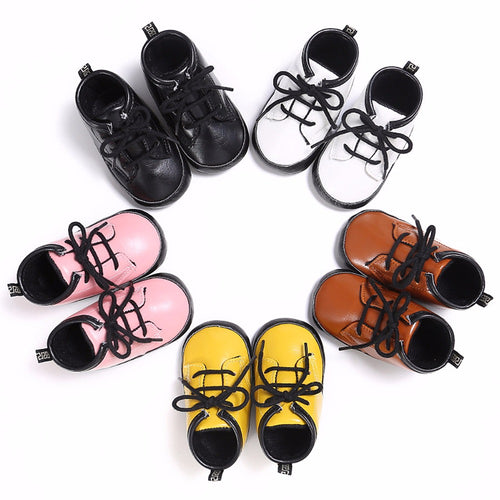 Leather Boots Soft Sneaker For Baby