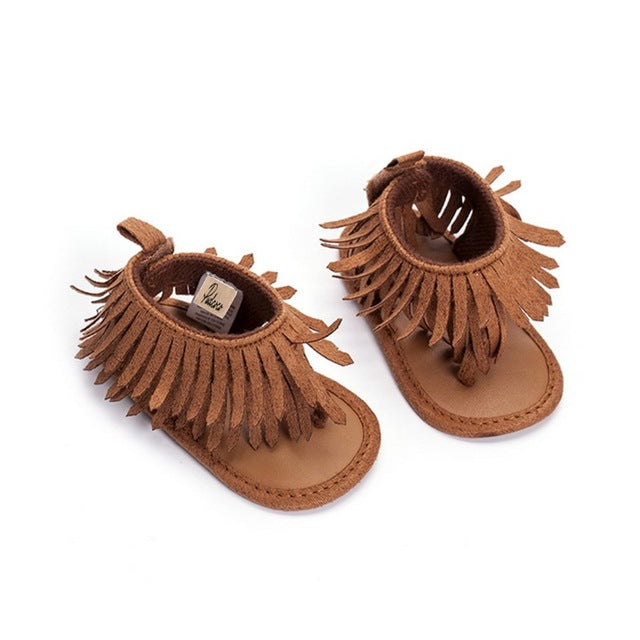 Baby Girls Soft Cotton Sole Non-slip Sandals