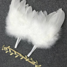 Baby Girl Headband & Feather Sets For Photography Props