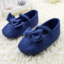 Kids Solid Crib Shoes