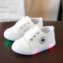 Lovely Classic Kids Sneakers With LED Light