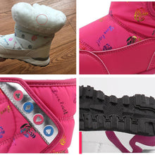 Winter Waterproof Warm Plush Snow Boots