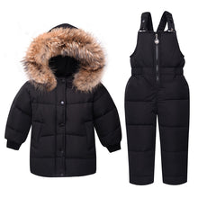 Winter Thickening Down With Snowsuit Outerwear