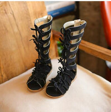 High Quality High-top Boots Gladiator Sandals Toddler Girls