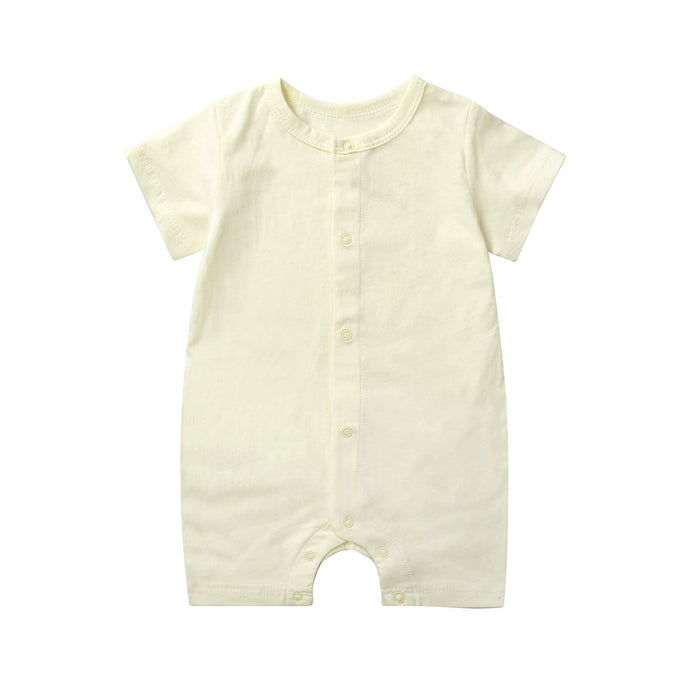 High Quality Organic Fabric Cotton Baby Girl Romper