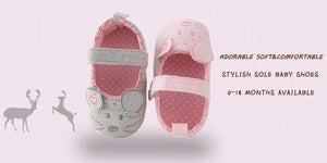 Baby Anti-slip Hook & Loop Shoes
