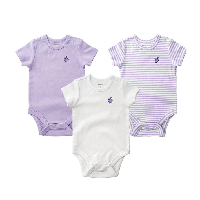 High Quality Baby Girl Bodysuits 3 pcs/pack