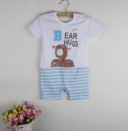 100% Cotton Bear Hug Romper Outfits