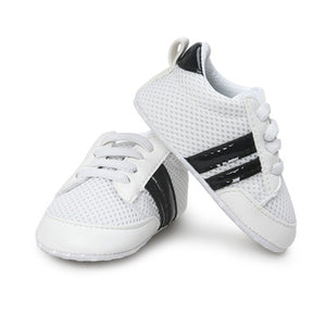 Anti-slip Leather Soft Sneakers
