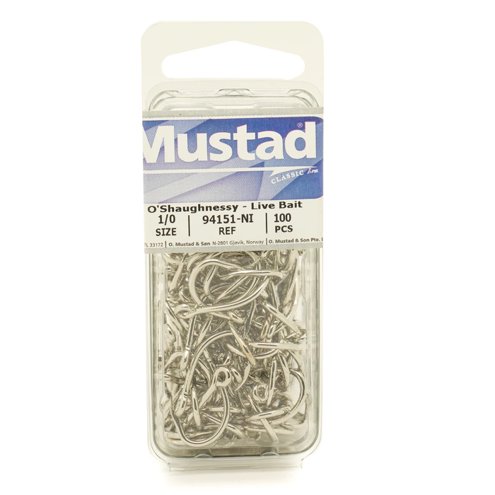 Mustad O'shaughnessy Live Bait Hook