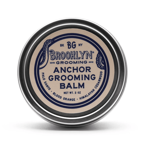 Brooklyn Grooming Balm - Anchor Grooming Balm 57g Beard Mr Brains & Brawn