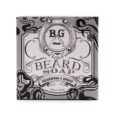 Brooklyn Grooming - Beard Soap (1) Beard Mr Brains & Brawn