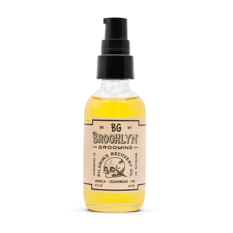 Brooklyn Grooming - Pilgrim's Recovery Oil 60ml Body Mr Brains & Brawn