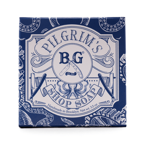 Brooklyn Grooming - Pilgrim's Shop Soap (1) Skin Mr Brains & Brawn