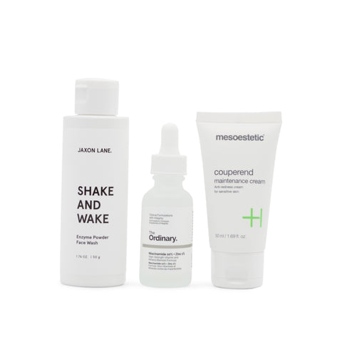 Redness Relief Set Skin Set Mr Brains & Brawn
