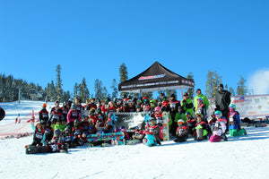 GROWING YOUNG SNOWBOARDS @ USASA'S JAMMIN 4 TASH