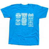 MEN'S 3 TIKI TEE - ATOLL BLUE