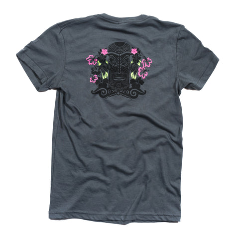 WOMEN'S TIKI TEE - GRAY
