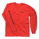 MEN'S KANALOA L/S TEE - CRIMSON