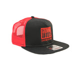 GY BOX SNAPBACK TRUCKER - RED