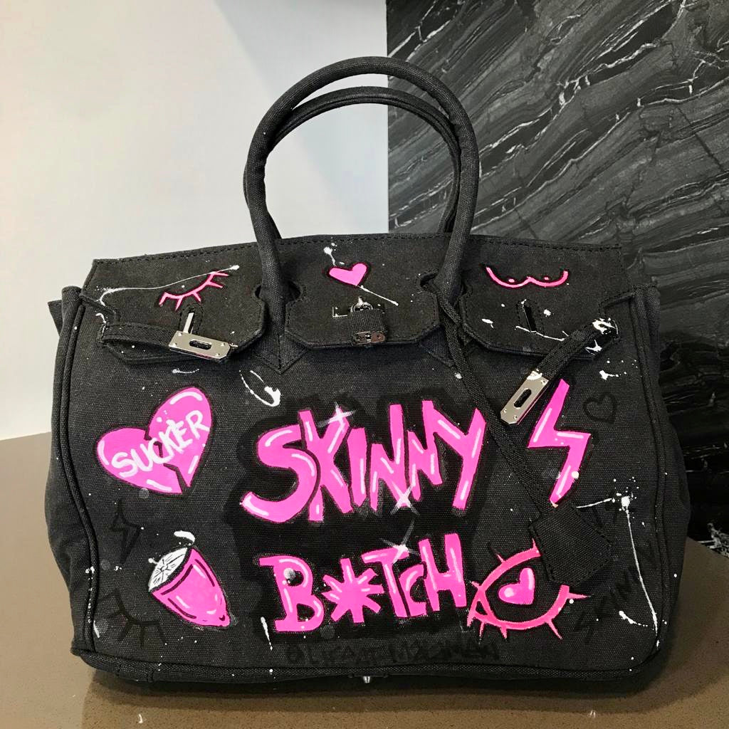The 'Skinny Bitch' Sucker Tote - Made Your Look Co.