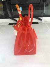 Orange Luxury Jelly Tote - Made Your Look Co.