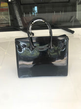Black Luxury Jelly Tote - Made Your Look Co.