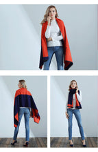 "Long ""H"" Cashmere Shawl/Scarf - Made Your Look Co."