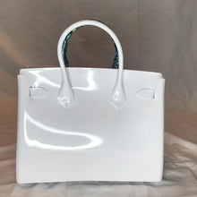 White Luxury Jelly Tote - Made Your Look Co.