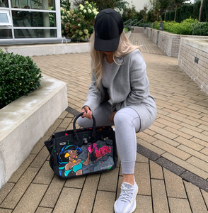 The HATERS CANCELLED Graffiti Tote | Made Your Look Co - Made Your Look Co.