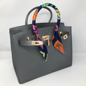 Grey Matte Luxury Tote - Made Your Look Co.