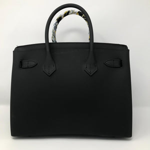 Black Matte Luxury Tote - Made Your Look Co.