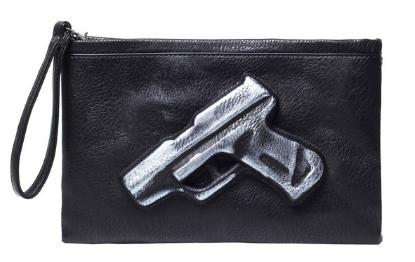 Brushed White Bang-Bang Clutch - Made Your Look Co.