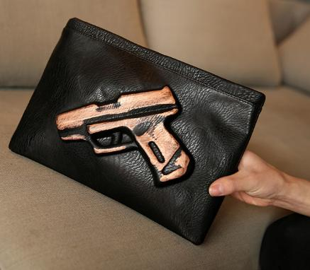 Rosegold Bang-Bang Clutch - Made Your Look Co.