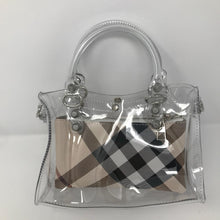 Clear PVC Mini Tote - Made Your Look Co.
