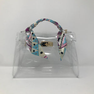 Clear PVC City Bag - Made Your Look Co.